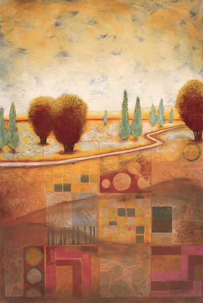 Quilted Landscape I