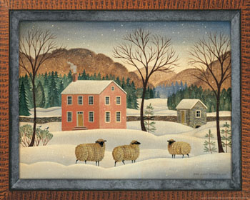 Winter Sheep I
