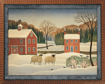 Winter Sheep II