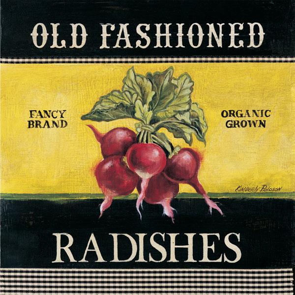 Old Fashioned Radishes