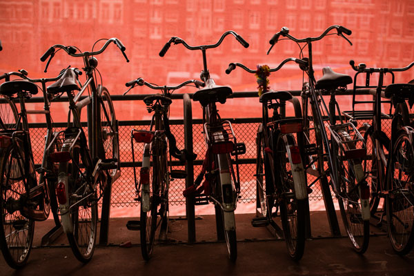 Bicycles at Centraal Station II