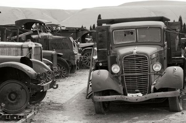 Antique Car Graveyard 2