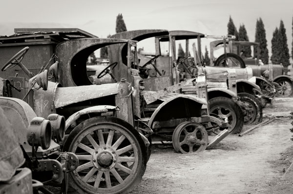 Antique Car Graveyard 1