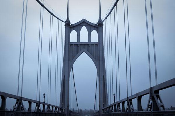 Eastbound on the Bridge I