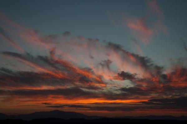 Cloudy Sunset I
