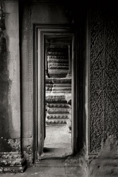 Angkor Wat II BW