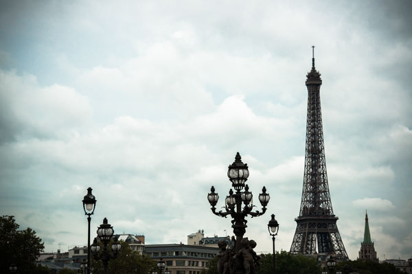 Lampposts & The Eiffel Tower