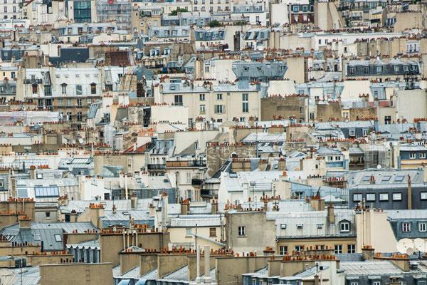 Paris Rooftops I