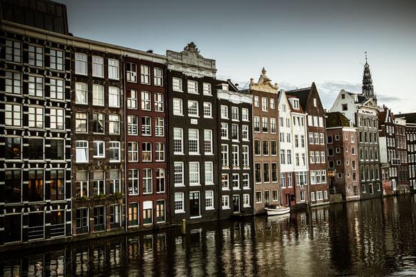 Amsterdam's Dancing Houses