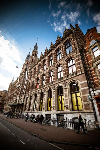 Amsterdam Brick Facade