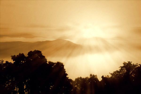 Distant Mountains I