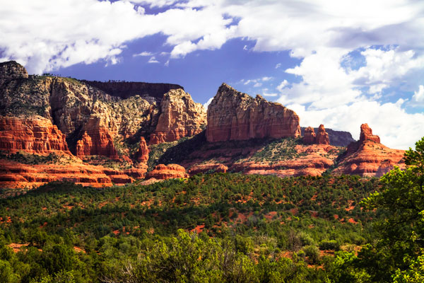 Red Rock Mountains I