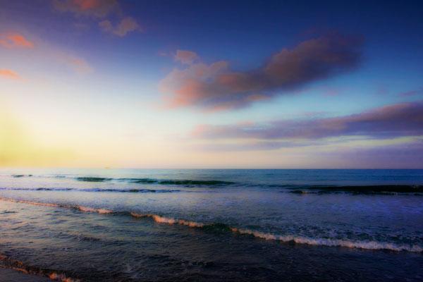 Peaceful Sunrise I