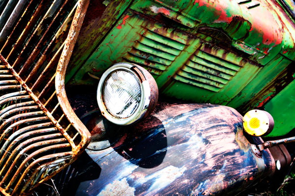 Rusty Old Truck VII