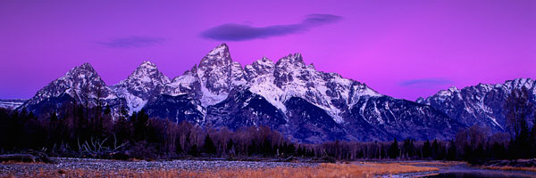 Grand Teton National Park X