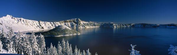 Winter at Crater Lake