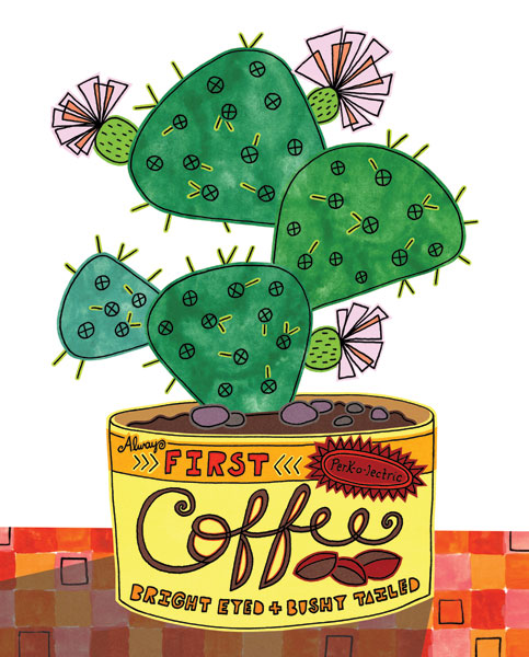 Coffee Can Succulent I