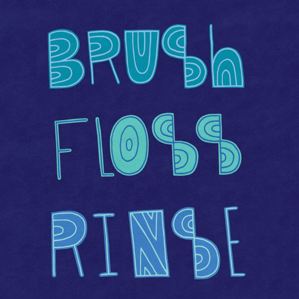 Brush Floss Rinse